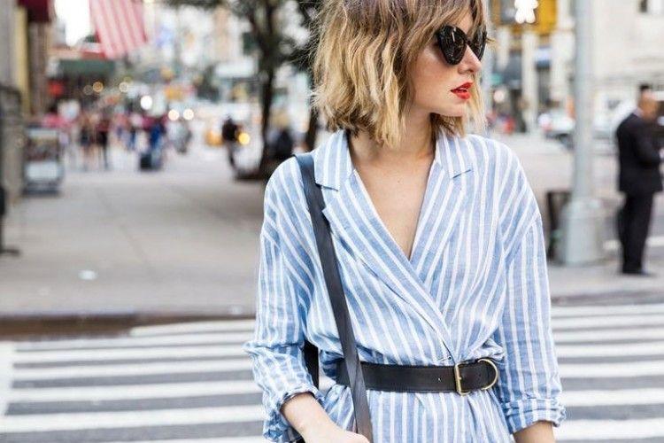 Blue Stripes: Motif Basic yang Trendi dan Wajib Kamu Coba