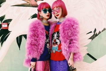 Ami dan Aya Suzuki, Model Kembar yang Punya Gaya Super Kawaii