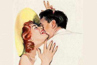 5 Tanda Dia Tergila-gila Ciuman Seksimu