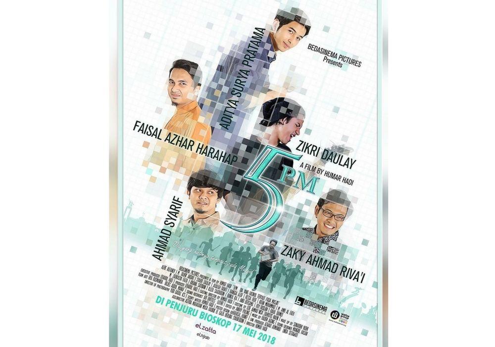 Nggak Cuma Puas Jadi Pembawa Acara, Zikri Daulay Main Film Layar Lebar