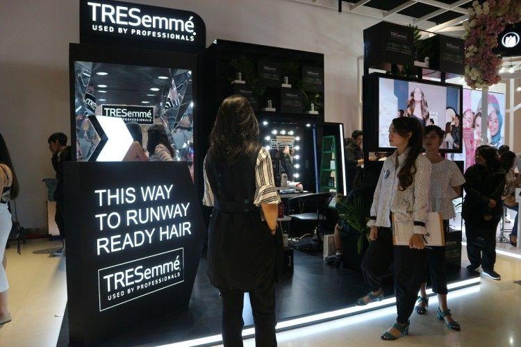 TRESemmé Kasih Spot yang Beda di BeautyFest Asia 2018