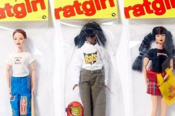 Boneka Barbie Berbusana Streetwear Hasil Kolaborasi Ava Nirui dengan Stray Rats