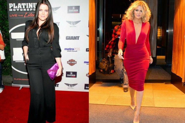 Transformasi Drastis Tubuh Khloe Kardashian dari Tahun ke Tahun