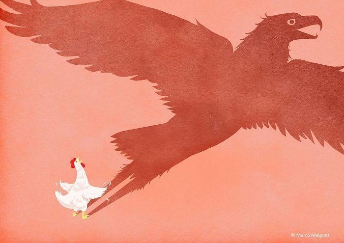 Seniman Ini Buat 10 Ilustrasi Sedih yang Dialami Kehidupan Era Sekarang