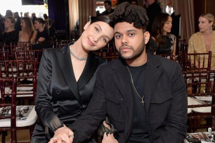 Kepergok Ciuman, The Weeknd dan Bella Hadid Balikan?