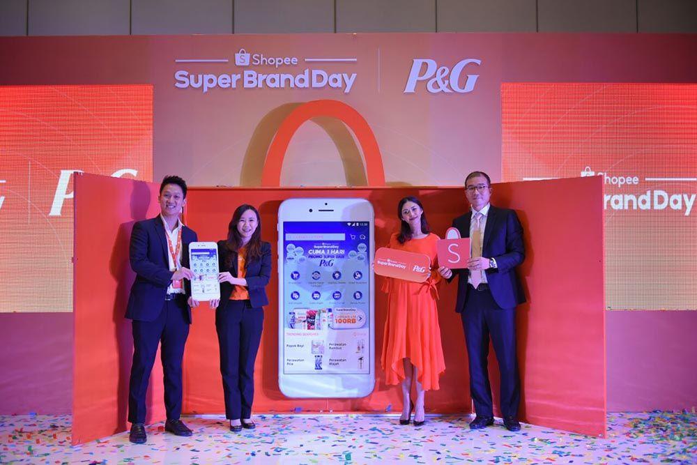 Shopee Super BrandDay Kasih Diskon Besar untuk Produk P&G