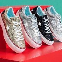 Chiara Ferragni x Converse Luncurkan Sneakers Bertabur Glitter