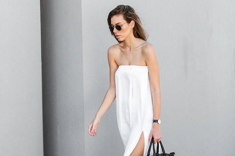 5 Cara Keren Memakai Strapless Dress!