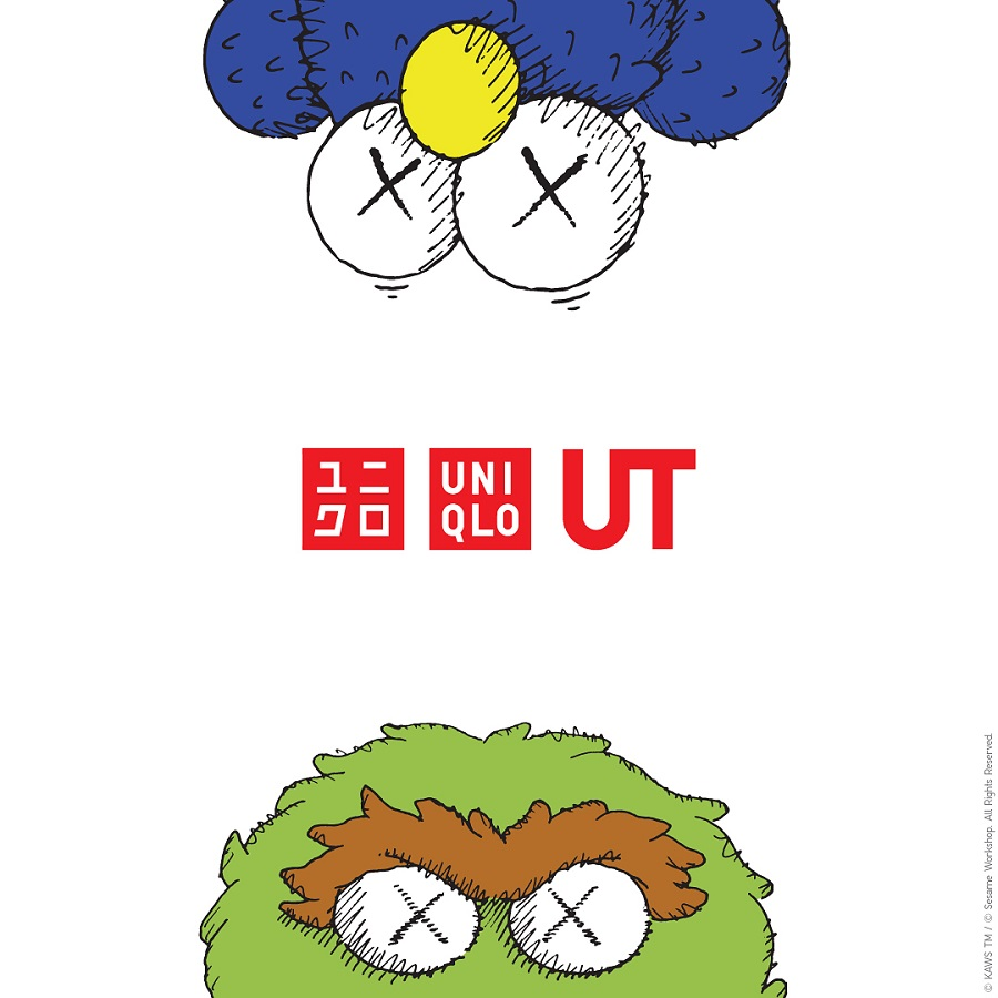 UNIQLO Berkolaborsi dengan KAWS Hadirkan Koleksi Sesame Street