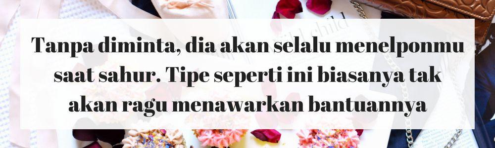 5 Tanda Dia Calon Suami yang Tepat Berdasarkan Sikapnya Selama Ramadan