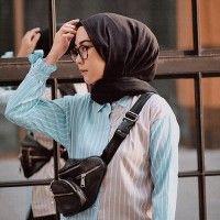 Ide OOTD Hijab Kasual dari Intan Khasanah
