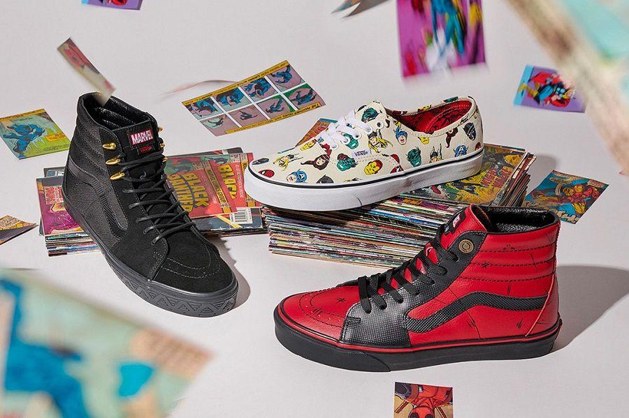 Penggemar Marvel? Intip Koleksi Sneakers Terbaru Kolaborasi Vans x Marvel
