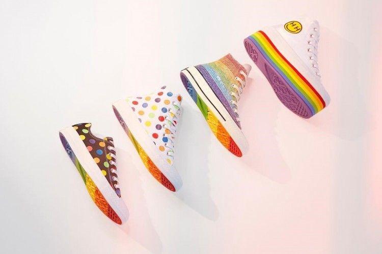 Converse Tampikan Koleksi Colorful yang Didesain oleh Miley Cyrus