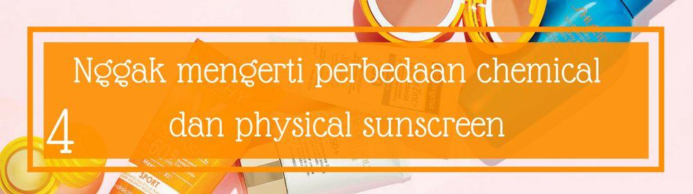 5 Kesalahan yang Sering Dilakukan Saat Memakai Sunscreen