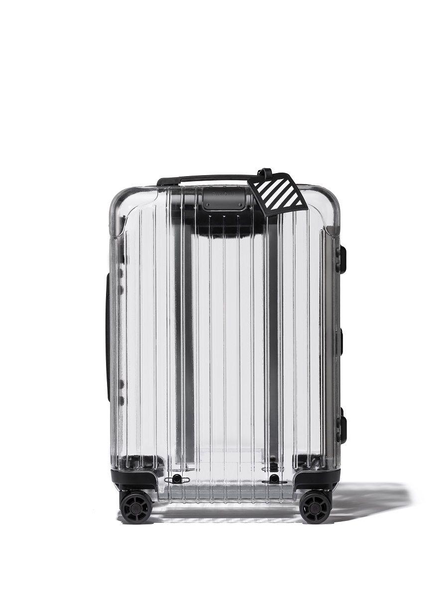 Rimowa x Off -White Luncurkan Koper 'Transparan' yang Mewah