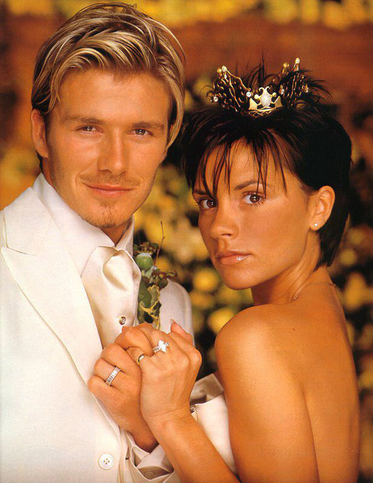 Diisukan Cerai, Ini Manisnya Kisah Cinta David dan Victoria Beckham