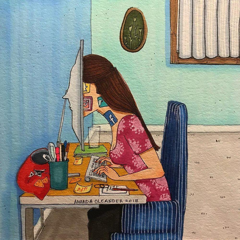 Merantau, Ini 10 Ilustrasi Kehidupan Cewek Single yang Tinggal Sendiri