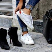 Ini Dia 5 Cara Keren Pakai White Sneakers