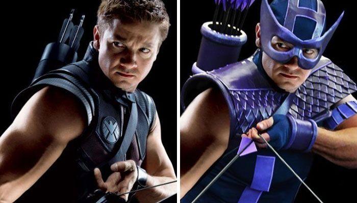 Beda Banget, Begini Seharusnya Penampilan Superhero Marvel Berdasarkan Komik
