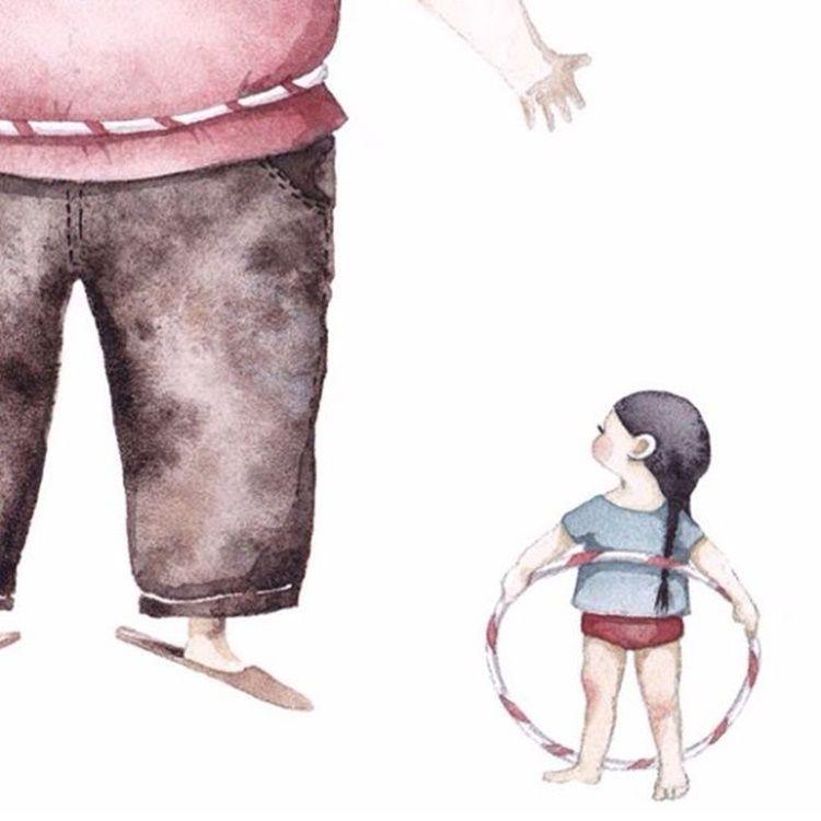 14 Ilustrasi Ini Buktikan Ayah Rela Berkorban Demi Anak Perempuannya