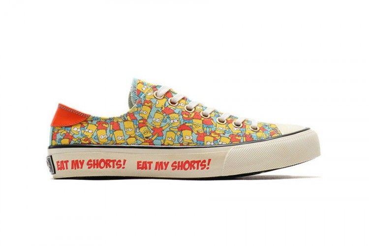 UBIQ Tampilkan Sneakers Kece Berdesain Karakter The Simpsons