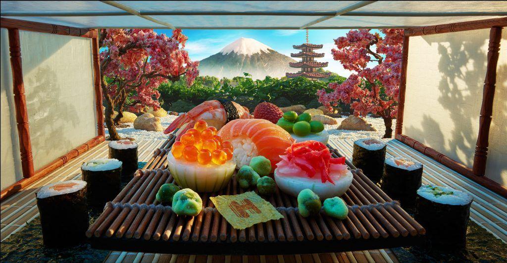 Begini Jadinya Kalau Tempat Ikonik Dunia Dibuat dari Bahan Makanan