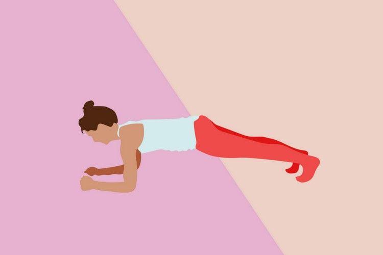 Ini 5 Manfaat yang akan Kamu Dapat Jika Rutin Melakukan Plank