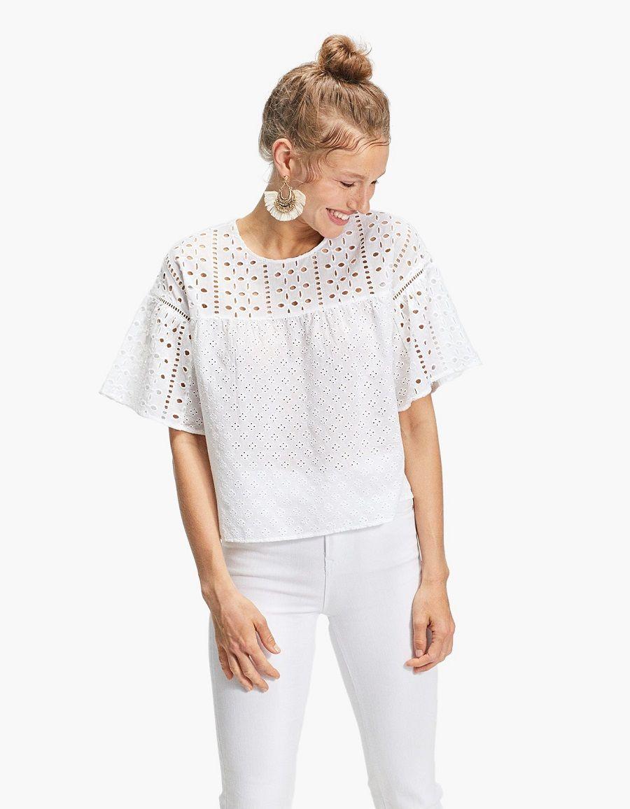 Chic! Embroidery Outfit untuk Tampilan Santai