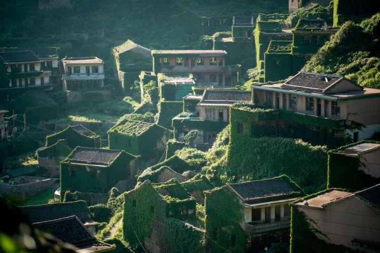 Foto-Foto Keindahan Kota Mati di Shanghai China