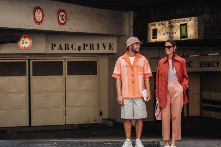 10 OOTD Hits Para Street Style Star yang Meramaikan Paris Fashion Week Men's 2018