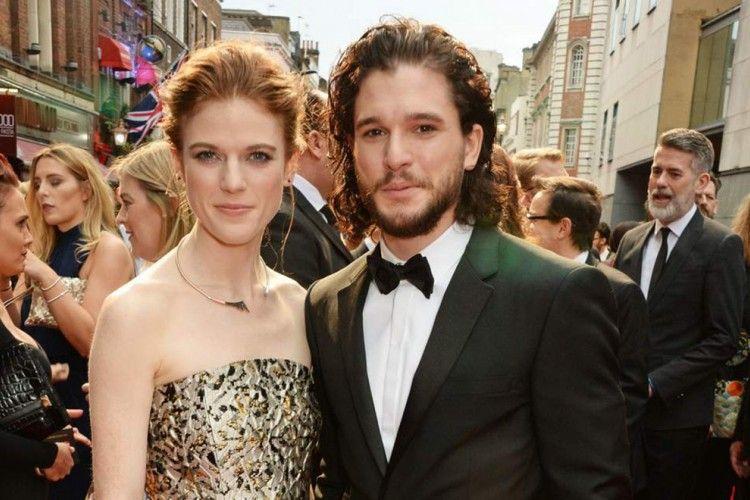 Cinta Lokasi, Aktor dan Aktris 'Game of Thrones' Ini Resmi Menikah