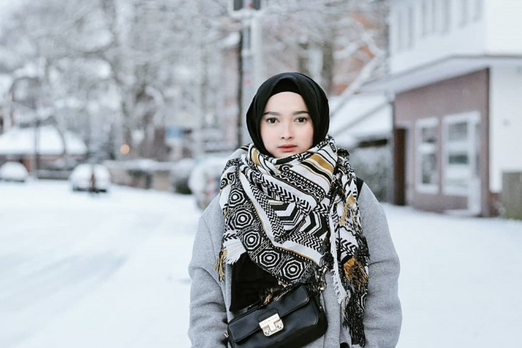 Style Hijab Di Musim Dingin
