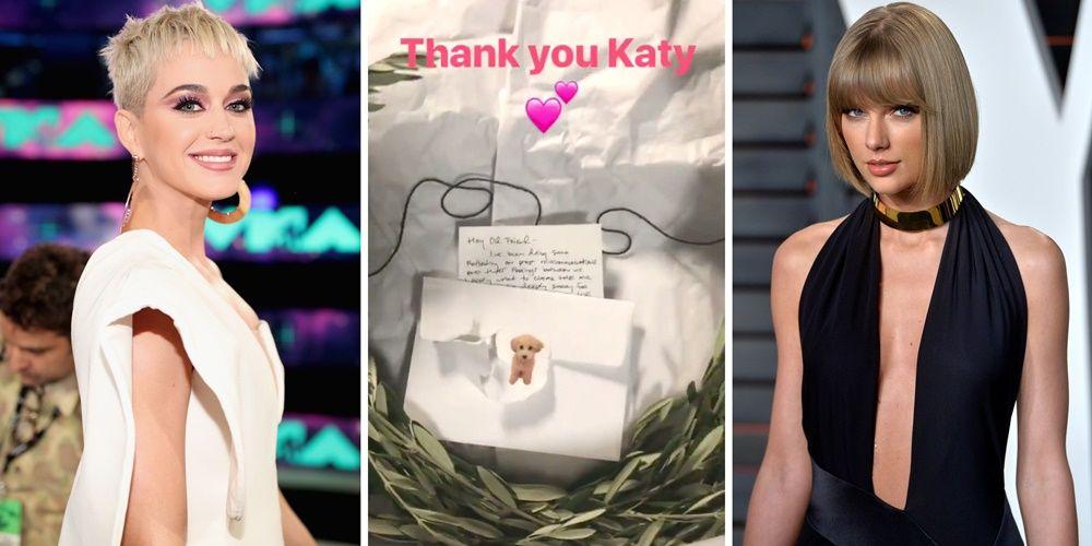 Sudah Berdamai, Katy Perry dan Taylor Swift Akhirnya 'Bertemu'
