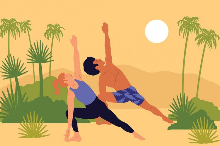 Ketahui 5 Manfaat Olahraga Yoga Bagi Hubungan Asmara