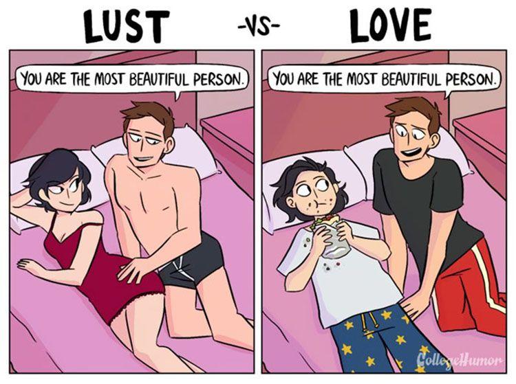 Ilustrasi Ini Bisa Ungkap Hubungan Atas Dasar Cinta atau Nafsu