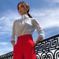 Tips & Trik Tampil Trendi ke Kantor yang Bisa Kamu Tiru dari Victoria Beckham