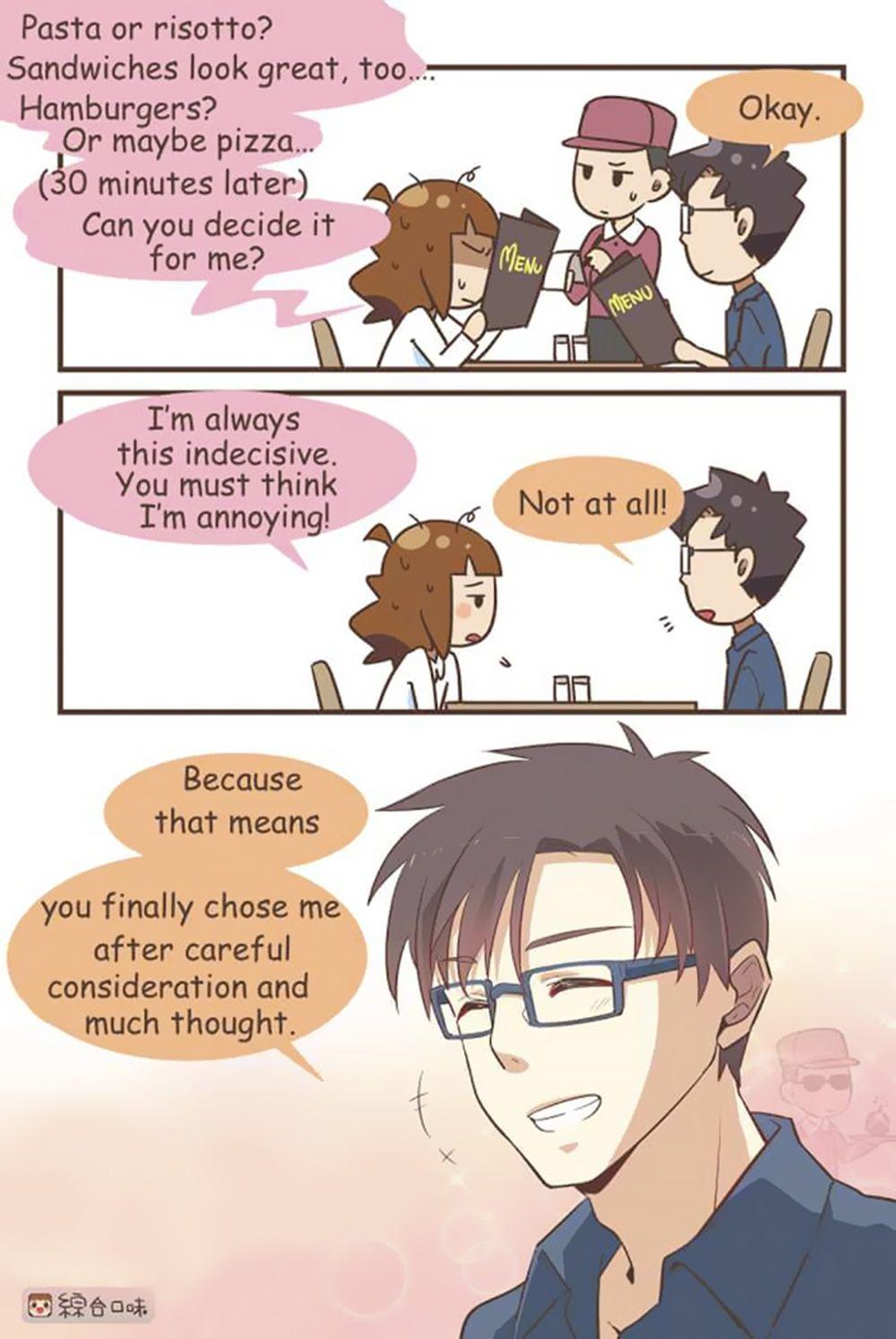 11 Komik Ini Ungkap Cara Manis Cowok Dapatkan Hati Pacarnya