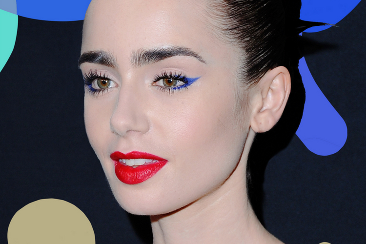 5 Trik Memakai Eyeliner Warna-warni dari Para Seleb Hollywood Ini Yuk!