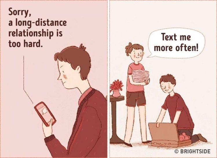 11 Ilustrasi Ini Buktikan Kalau Cinta Sejati Butuh Kompromi