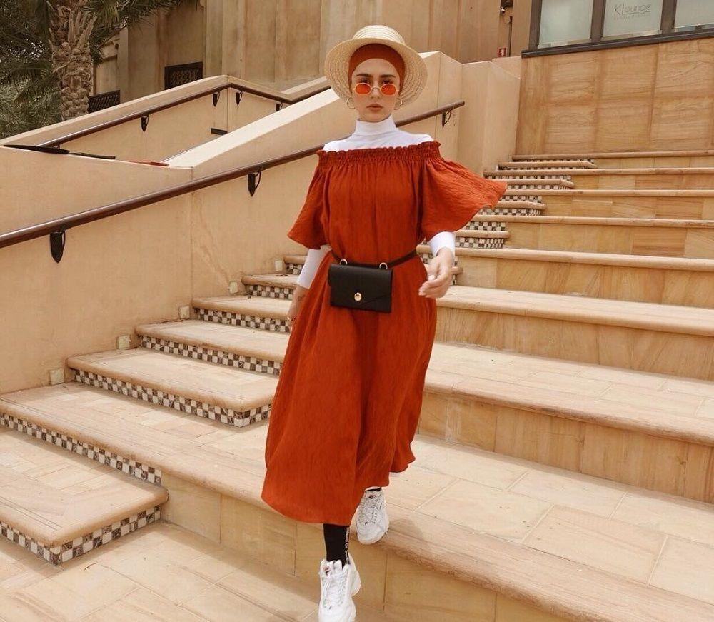 Biar Makin Keren, Ini Cara Mix & match Hijab dari Yasmeena