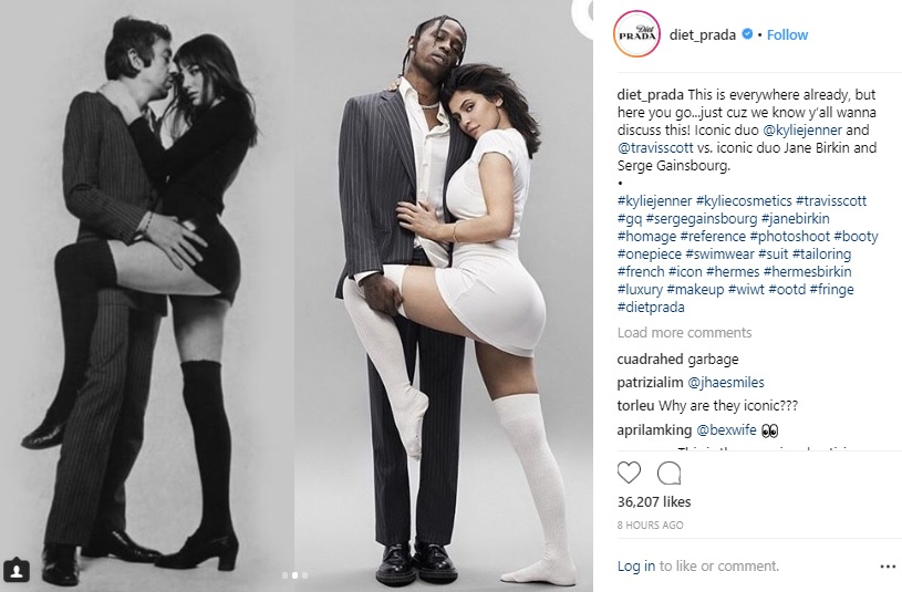 Debut Tampil Berdua, Foto Kylie Jenner & Travis Scott Ternyata Menjiplak