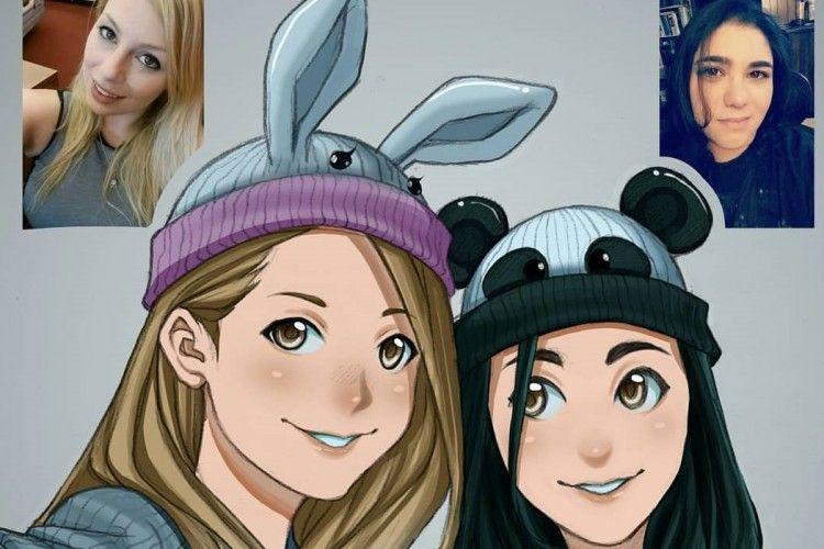 Bikin Kagum, Ilustrator Asal Indonesia Ini Ubah Potret Kamu Jadi Karakter Anime!