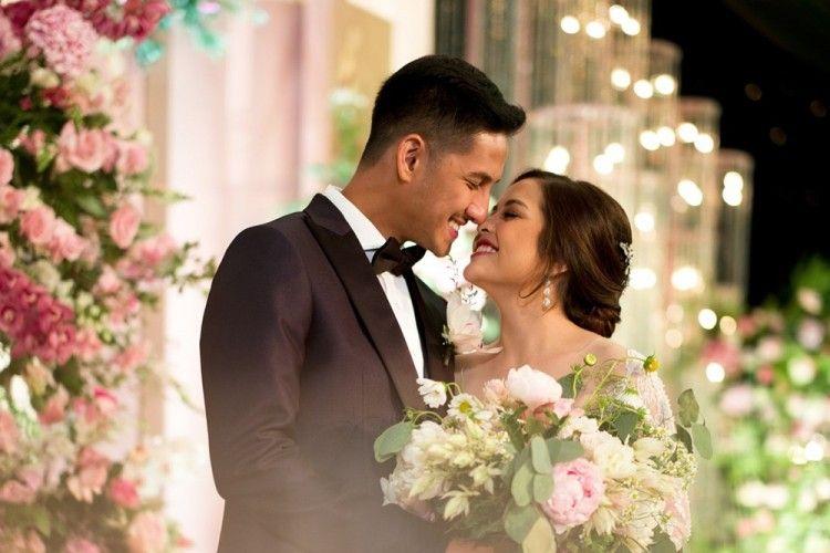 Bak Royal Wedding Ini 13 Potret Resepsi Pernikahan Tasya Kamila