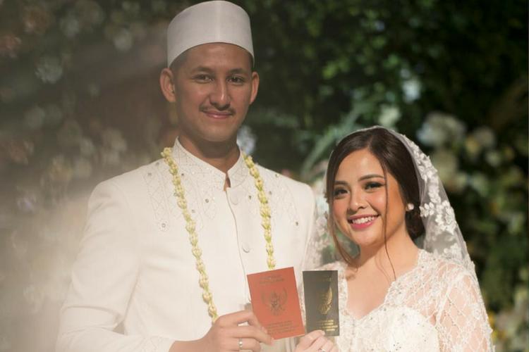 Tampil Memukau, Makeup Pernikahan Tasya Kamila Terinspirasi Dari Tokoh Kartun