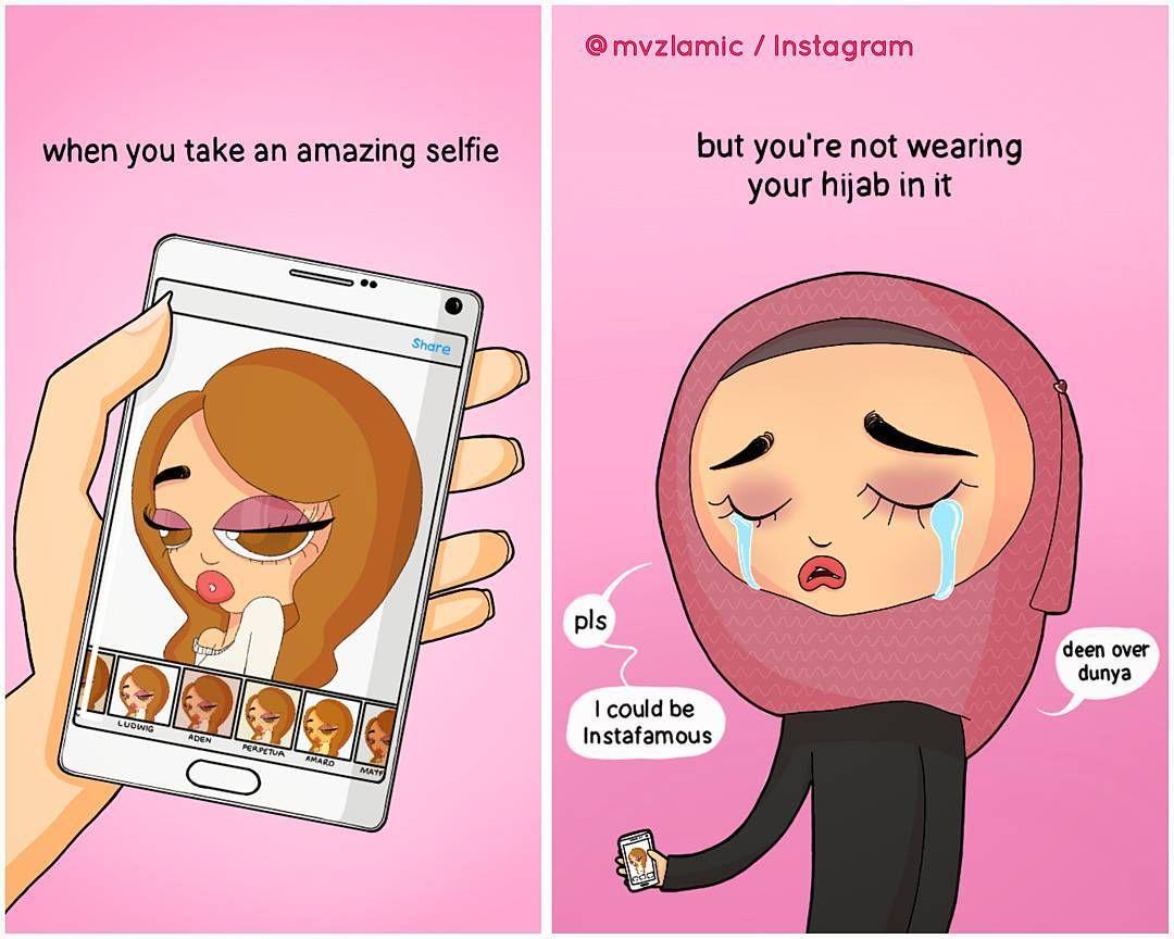 Ini 9 Ilustrasi Masalah Yang Dihadapi Perempuan Berhijab