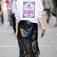 Tambah Keren Memakai Busana Berbahan Leather