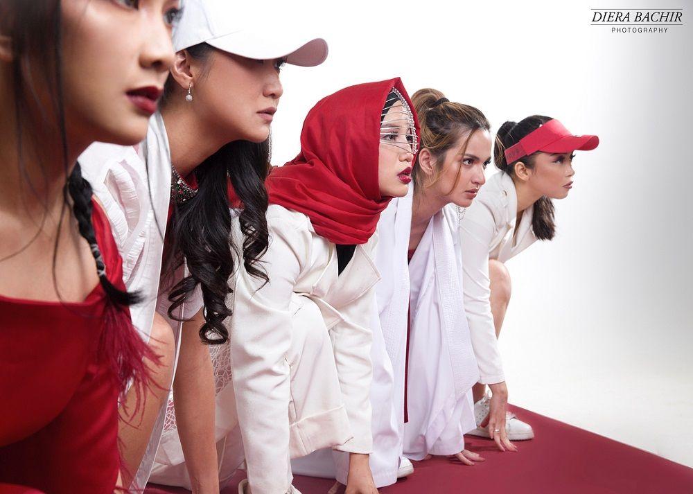 Girl Squad Berikan Dukungan Asian Games 2018 Lewat Sesi Photoshoot