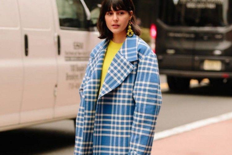 Fashion Item Motif Kotak Paling Kece di Minggu Ini