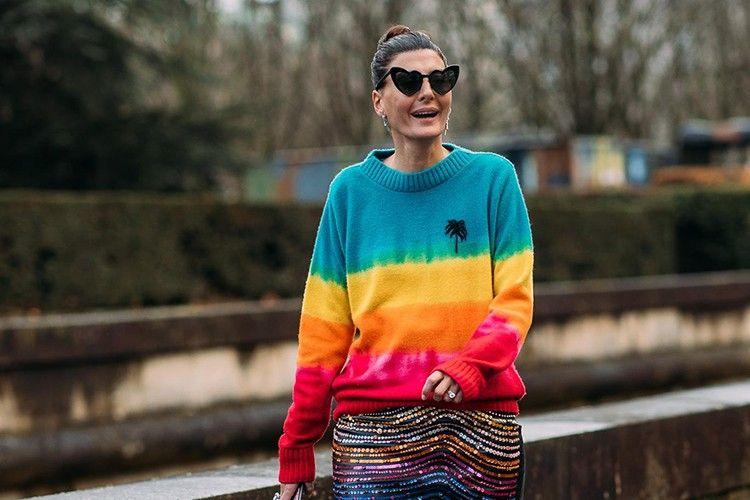 Trik Keren Mengenakan Pakaian Warna-warni!