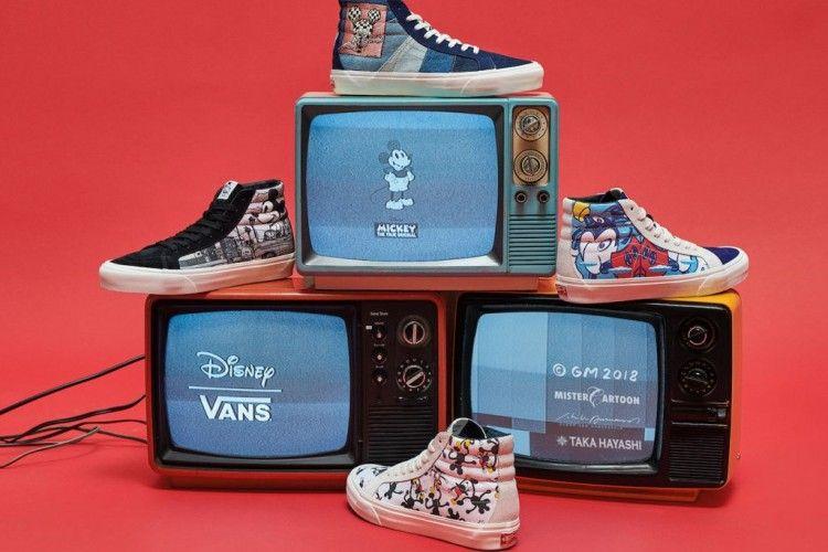 Vans® Vault x 4 Seniman Luncurkan Sneakers Berdesain Mickey Mouse